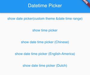 Flutter Datetime Picker in Multiple Language