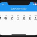 Flutter Date Picker Timeline