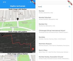 Flutter Mapbox