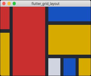 Flutter Layout Grid