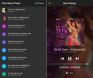 Flutter Music Player App