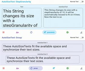 Auto Text Size Flutter