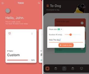 Flutter ToDo Design App