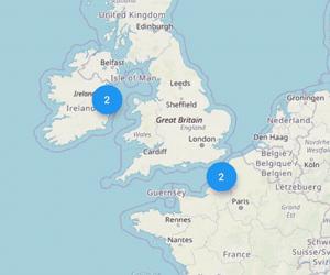 Flutter Map Marker Cluster