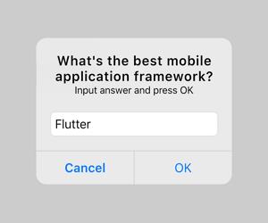 Flutter Alert Dialog