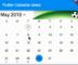 Flutter Calendar Widget