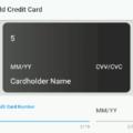 Flutter Detect Credit Card