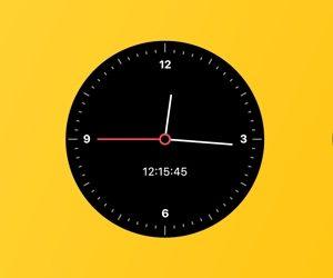 Flutter Analog Clock