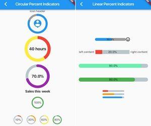 Flutter Percent Indicator